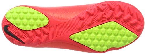 Nike Mercurial Victory V TF Unisex-Kinder Fußballschuhe Rot (Hypr Punch/Mtlc Gld Cn-Blk-Vlt 690)