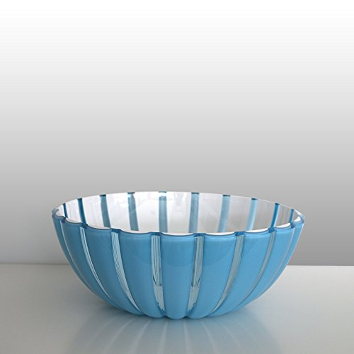 Weiße Nudeln Schalen Und Blaue (guzzini Schale GRACE blau-weiß, D ca. 30 cm)