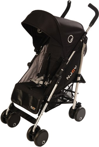 Njoy Up 6350.25 - Cochecito reversible (sistema patentado), color negro