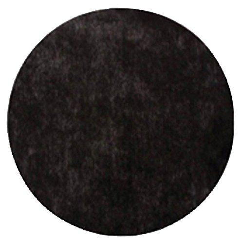 AEC - EM424/noir - Sachet de 50 Sets de Table Non Tissé Ronds 34 cm Noir