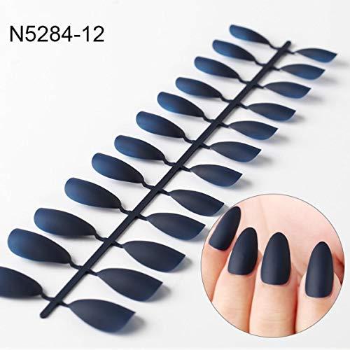Neue erstaunliche künstliche Nägel 12 Professionelle farbige Glitzernägel, einfach anzuziehen, sehr schön und billig, speziell für Sie entwickelt, die schönsten Hände zu haben