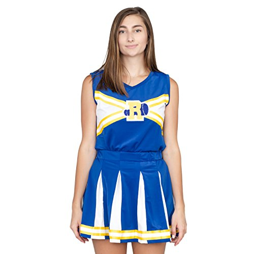 Archie Comics Kostüm Veronica - Riverdale Cheerleader High School Costume Outfit (Adult Small)