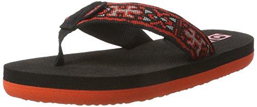 Teva Mädchen Mush Ii Y's flip flops, Old Lizard Black/Red, 37 EU