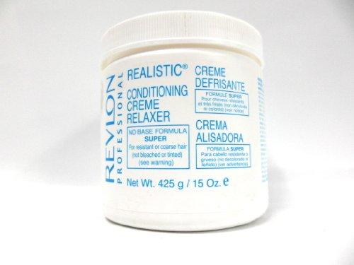 REVLON REALISTIC CREME RELAXER SUPER 15oz - Revlon Creme