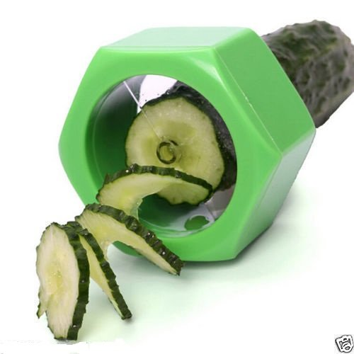 As Seen On Tv Cucumber Spiral Slicer Vegetable Fruit Salad Cutter  available at amazon for Rs.251