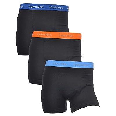 Calvin Klein Men's 3 Pack Trunks, Multicoloured