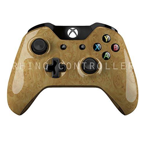 En personlig XBOX controller WTP-550-Golden-Karpaterne Elm Burl custom-Malet