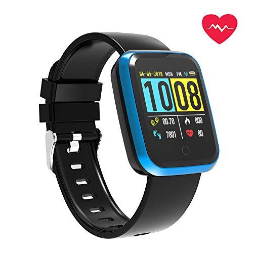 FOSUN N1 Smartwatch, Orologio Fitness Cardiofrequenzimetro da Polso Smart Watch Fitness Activity Tracker Pedometro Orologio Sport per Donna Uomo per Telefoni Android e iOS