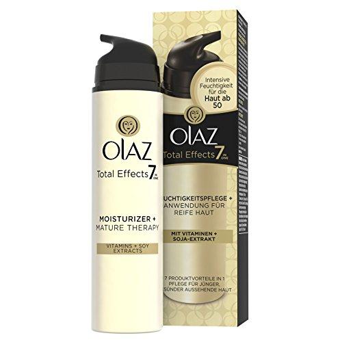 Amino Lift (Olaz Total Effects 7-in-1 Feuchtigkeitspflege plus, Anwendung für reife Haut , 1er Pack (1 x 50 ml))