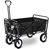 Best Folding Wagons - Display4top Garden Cart Foldable Pull Wagon Hand Cart Review