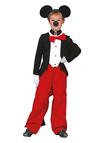Kostüm Maus Märchen Größe 152 Kind Junge Mädchen Kinderkostüm Fliege Show Karneval Fasching Pierro's