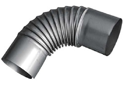 Preisvergleich Produktbild ROHRBOGEN / KAMINROHR Stahl 120mm