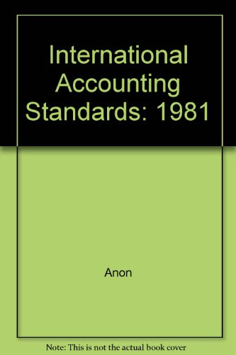 international-accounting-standards-1981