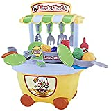 (Angel Impex) 29 Pcs Little Chef Kitchen Play Set Toy Let's Cook Yummy For Kids (Yellow)