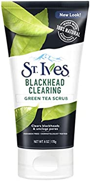 St. Ives Blackhead Clearing Green Tea Face Scrub, 170 gm