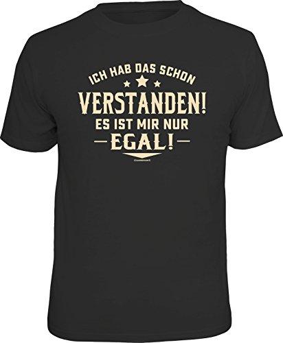 RAHMENLOS Original T-Shirt: Ich hab das Schon verstanden, es ist Mir nur egal!