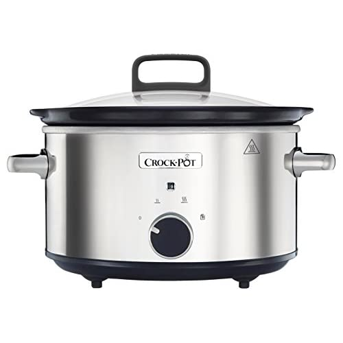 Crock-Pot CSC032 Stainless Steel Slow Cooker, 3.5 Litre, 3.5 liters, SS