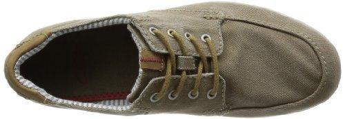 Clarks Norwin Vibe, Chaussures de ville homme Gris (Olive Canvas)