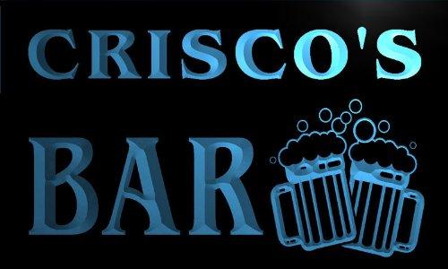 w025951-b-criscos-nom-accueil-bar-pub-beer-mugs-cheers-neon-sign-biere-enseigne-lumineuse