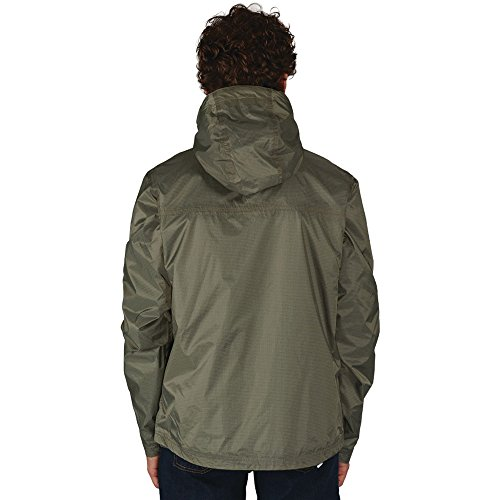 Dare 2b Mens Prewarn 100% Polyester Showerproof Relaxed Fit Jacket Fauna