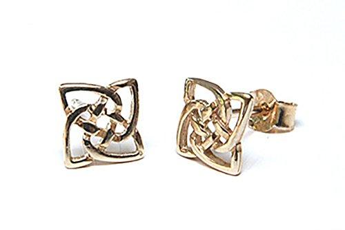 9ct-gold-celtic-square-stud-earrings