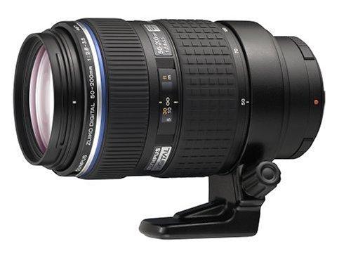 Olympus Zuiko Digital EZ-5020-2 ED 50-200mm 1:2.8-3.5 SWD Objektiv (Four Thirds, 67 mm Filtergewinde) Olympus E-410 Digitale Slr