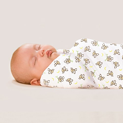 Summer Infant 671304 Swaddle Me Blanket 3 Pack