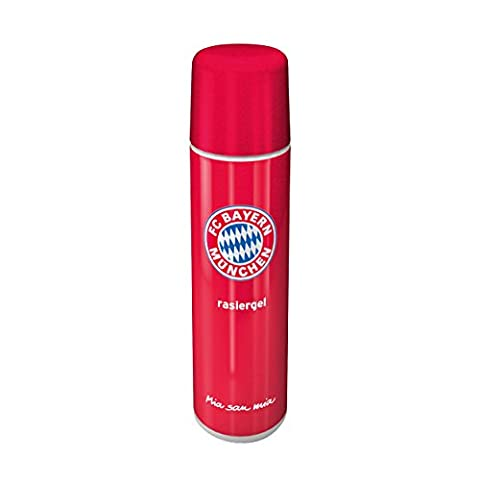 Gel à raser FC Bayern München FCB + GRATIS Stickers Munich Forever/Gel de Rasage/Gel de Rasage