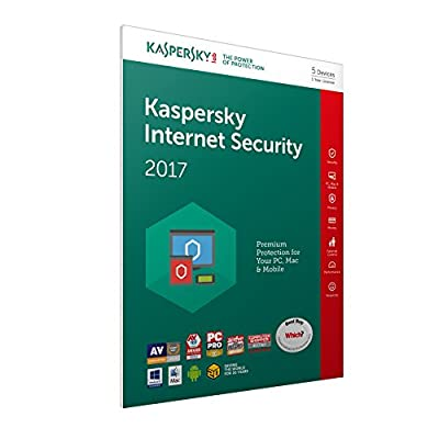 Kaspersky Internet Security 2017 (PC/Mac/Android)