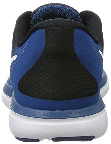 Flex Lenda Tênis Branco Mais Nike Rn Industrial 2017 Homens preto Azul Cor Azul Swq4W