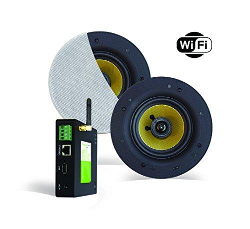 WiFi Audio Amplificador (Airplay DLNA) + Altavoz de 40W, Incluye Freestyle (205mm)....