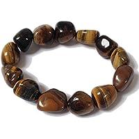 Tumblestone Tigers Eye Bracelet - Yoga - Plus Free Gift Bag preisvergleich bei billige-tabletten.eu