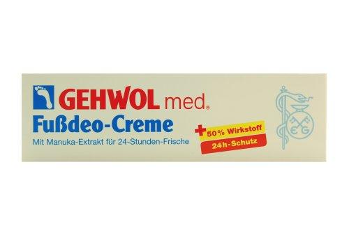 Gehwol med - 1040705 - Crème déodorante pour pieds - 75ml