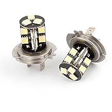 2stuks Cambus H7White 195050SMD LED DRL Fog Light hoofd gloei lámpara 12V