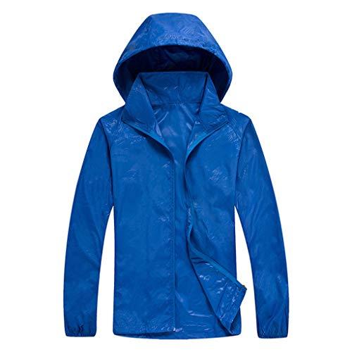 TYTUOO Männer Frauen Outwear Casual Outdoor Coat Jacken Winddicht Ultraleicht Regenfest Windbreaker Tops