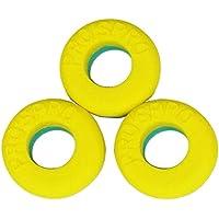 Tenis Pros Pro Vib Control PLUS 3 Antivibradores (turquesa / amarillo)