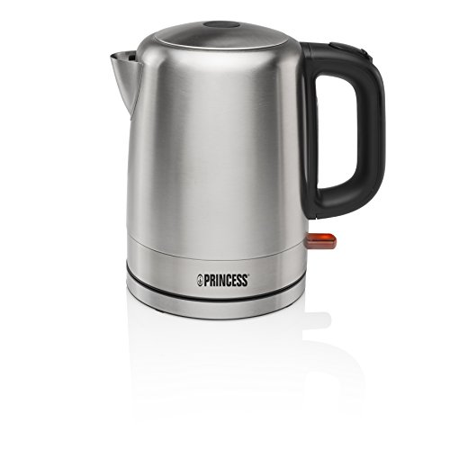 Princess 236000 Hervidora, 2000 W, 1 Liter, Acero Inoxidable