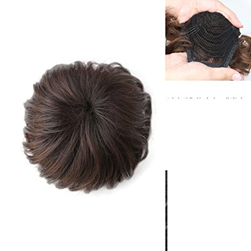 Bloom Daisy Vertrag/fashion flauschige Knospen Frikadelle Kopf Developer/Haarbänder für Urlaub (Kostüme Daisy Cosplay)