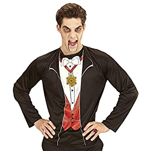 WIDMANN?Camiseta Mens vampiro, XL, vd-wdm07411