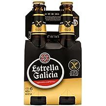 Estrella Galicia Cerveza Especial - Paquete de 4 x 330 ml - Total: 1320 ml