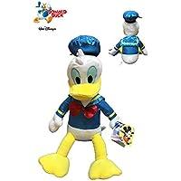 Mickey Mouse by Play Peluche Donald Oficial Disney, Color Azul/Amarillo/Blanco,