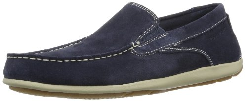 Rockport Cape Noble 2, Mocassins homme Bleu (Blue Wsh Sde)