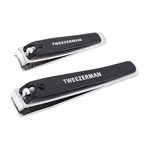 Tweezerman Maniküre-set (Tweezerman Nailclippers Set - black, 1er Pack (1 x 15 ml))