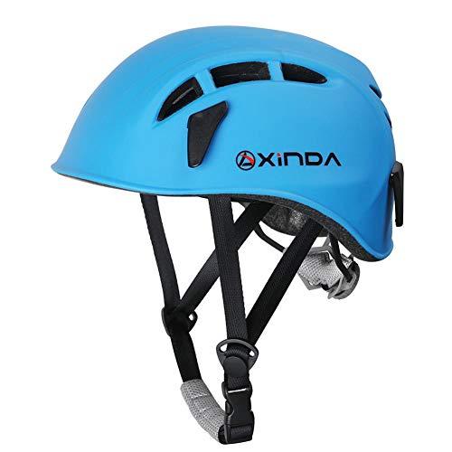 Ibellete casco universale per arrampicata e alpinismo - casco di sicurezza per uomo donne bambini alpinismo arrampicata sport all'aperto protezione da testa