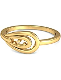 P.N.Gadgil Jewellers Lavanya Collection 22K (916) Yellow Gold Refined Simple Ring