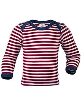 Engel , Baby Unterhemd/Schupfhemd langarm, 100% kbT Wolle