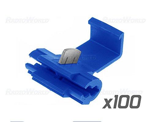 100x-blue-scotch-lock-wire-connectors-quick-splice-terminals-crimp-electrical