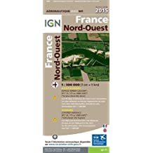 OACI941 FRANCE NORD-OUEST 2015  1/500.000