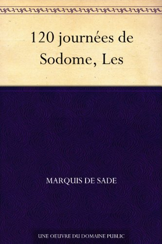 Couverture du livre 120 journées de Sodome, Les
