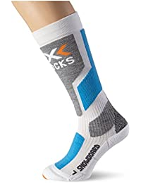 X-Socks Functional Socks Snowboard Multi-Coloured White/Sky Blue/ Pearl